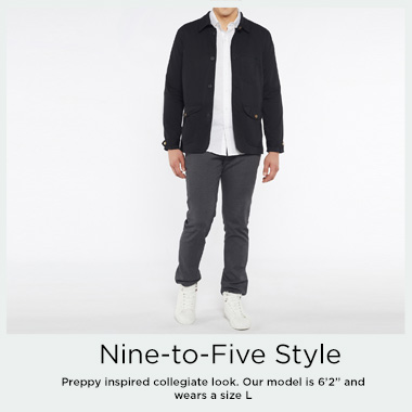 Singapore SG Essential Jackets in Black - Août