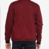 Classic Bomber jacket in burgundy office wear casual Sg Singapore Fashion sgfashion