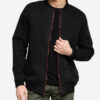 aout singapore sg fashion black bomber jacket