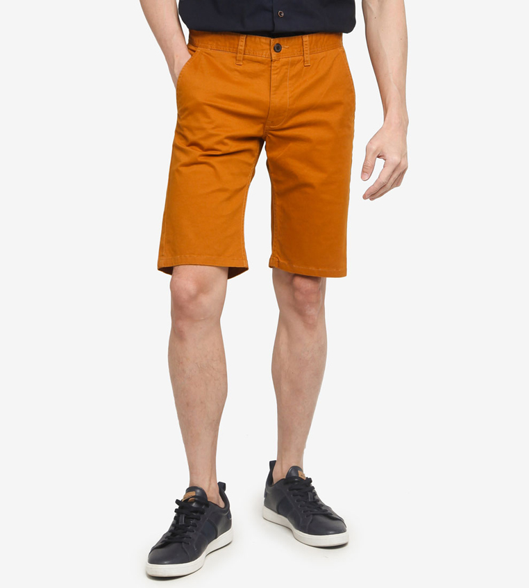 SG Singapore Casual Chino Shorts Designer Local Fashion Label Aout Zalora Asia Yellow
